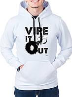 Vipe It Out - Толстовка Мужская с длинным рукавом (худи) с Дизайном