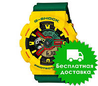 Спортивные часы Casio G-shock Ga-110 Yellow Khaki
