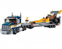 Лего Lego City Грузовик для перевозки драгстера 60151