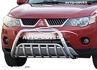 Кенгурятник для Mitsubishi Outlander XL 2007-2010