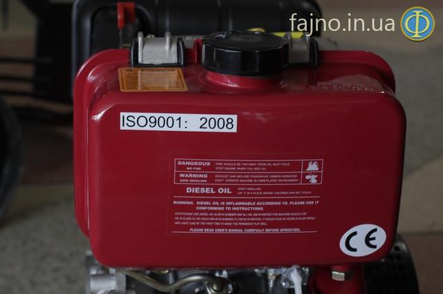 Дизельный двигатель Weima WM 178FE с электростартером фото 5