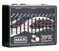 Jim Dunlop KFK1 MXR педаль для гитары, эффект - 10-ти полосный эквалайзер Kerry King