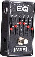 Jim Dunlop M109 MXR 6 band EQ педаль для гитары, эффект - 6-ти полосный эквалайзер