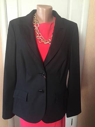Пиджак женский черный деловой офисный большой размер  S.Oliver, фото 2