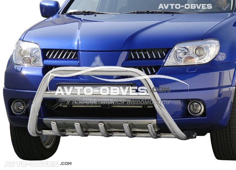 Штатный кенгурин для Mitsubishi Outlander 2003-2007