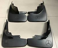 Брызговики Mercedes-Benz ML164 (без порогов) 2005-2012 (B66528228;B66528254), комплект 4шт