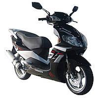 Скутер Qingqi Patrol 150 Черный