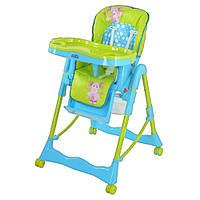 Кресло для кормления высокое Bambi Лунтик на колесиках