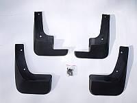 Брызговики Peugeot 301 2012+ (1607396780;1607396880), комплект 4шт