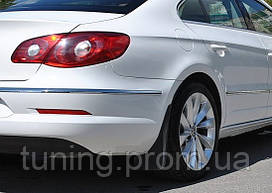 Брызговики Volkswagen Passat CC 2008-2011 (задний комплект 2 шт)