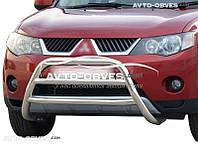 Кенгурятник защитный Mitsubishi Outlander XL 2007-2010