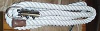 Канат лазания х/б d-30-60 мм, L-5,15 м.