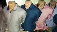 Качественная мужская рубашка  короткий рукав