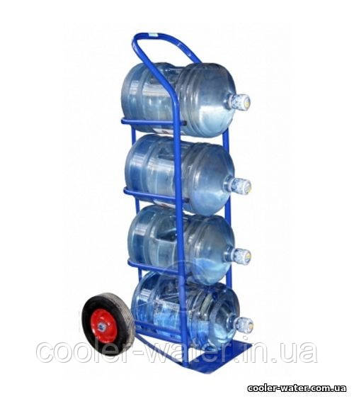 Тележка для перевозки бутылей на 4 бутыля