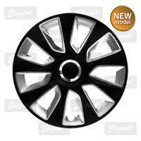 Колпаки колесные Stratos RC black&silver( к-т 4шт.) R13,R14,R15,R16.