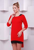 Модное   женское красное   платье Grace   FashionUp 42-48  размеры