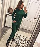 Женский модный теплый костюм из ангоры с эфектными плечкам (5 цветов), фото 10