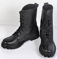Черные кожаные берцы Хром от 37 до 46 размера