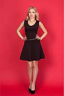 Кокетливое  платье  № 913 Цвет:  шоколадный