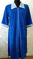 Велюровый халат женский 50-54, доставка по Украине