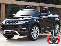 Детский электромобиль с пультом управления RANGE ROVER EVOQUE (BLACK)
