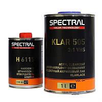 NOVOL Лак бесцветный SPECTRAL KLAR 505 VHS 3+1 (1,0л + 0,33л отв.)