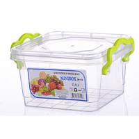 Контейнер пищевой Minilux №2 0.4 л, Ал-Пластик, Арт.: 12