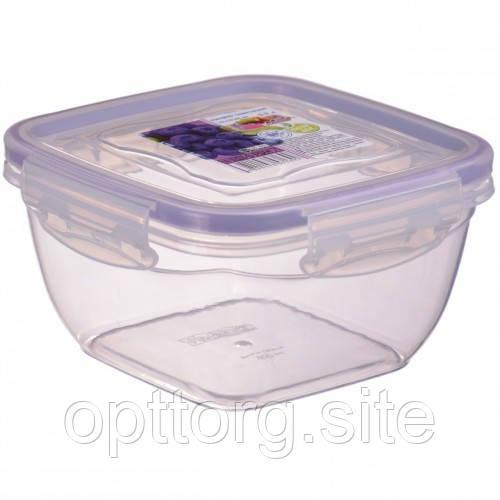 Контейнер пищевой FreshBox 0.9 квадратный, Ал-Пластик, Арт.: 24
