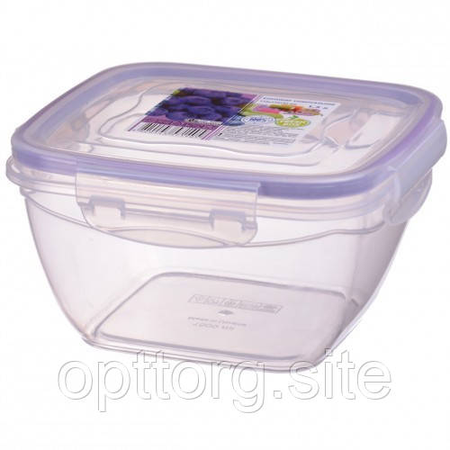Контейнер пищевой FreshBox 1.5 квадратный, Ал-Пластик, Арт.: 25