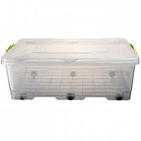 Контейнер пластиковый на колесиках BigBox №1 30 л, Ал-Пластик, Арт.: 31