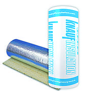 Минеральная вата с фольгой Knauf Insulation LMF Alur 30 мм (1м*8м) /8м2