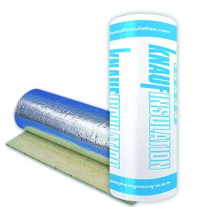 Мінеральна вата з фольгою Knauf Insulation LMF Alur 30 мм (1м*8м) /8м2