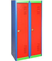 Детский шкаф для одежды металлический ШОД-300/2