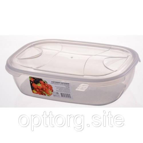 Контейнер пищевой овальный 1.15 л, Ал-Пластик, Арт.: 47