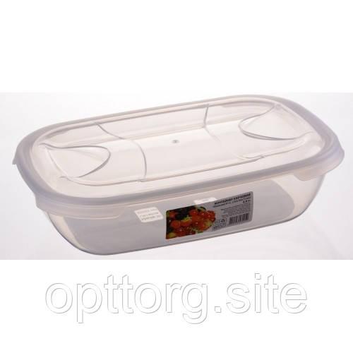 Контейнер пищевой овальный 2 л, Ал-Пластик, Арт.: 48