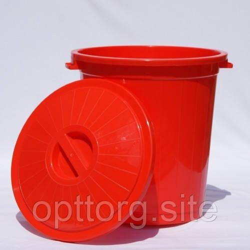 Бак 50 л Красный, Ал-Пластик, Арт.: 74