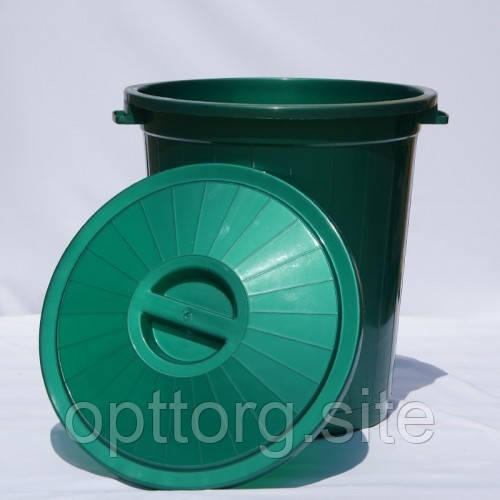 Бак 50 л Зелёный, Ал-Пластик, Арт.: 75