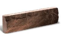 Цокольная плитка «Литос» (кирпич тонкий) cкала, ШОКОЛАД