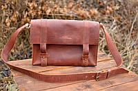 Мужская сумка из натуральной кожи, мессенджер