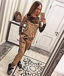 Женский модный костюм из мраморного велюра (4 цвета), фото 7