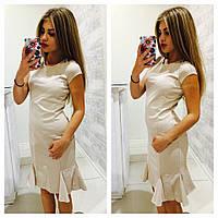 Женское платье с клиньями