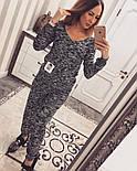 Женский стильный вязаный костюм (3 цвета), фото 3