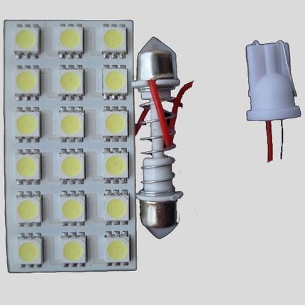 Светодиодный модуль в подсветку салона 5050-18, фото 2