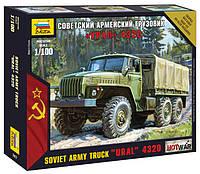 Советский армейский грузовик Урал 4320