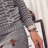 Женский стильный вязаный костюм: свитер и брюки (5 цветов), фото 3