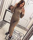 Женский стильный вязаный костюм: свитер и брюки (5 цветов), фото 9