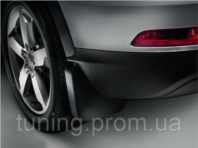 Брызговики Audi Q3 2015+ рестайл, оригинальные задний 2шт