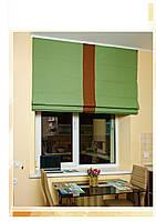 Римские шторы модель Лайн ткань Лен