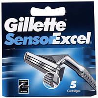 Лезвия серии Gillette Sensor Excel (пять картриджей в упаковке)