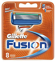 Картриджи Gillette Fusion 8's (восемь картриджей в упаковке), фото 1